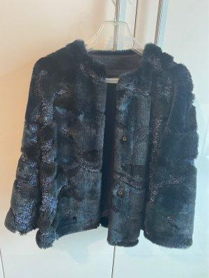 Riani Short Coat dark blue