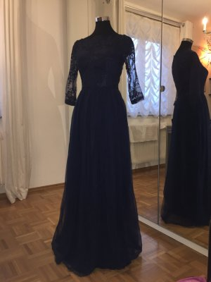 Chi Chi London Evening Dress dark blue