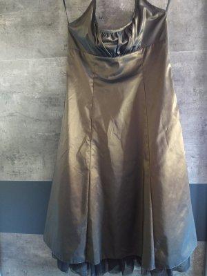 VM  vera mont Robe dos-nu bronze-brun