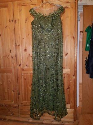 altanight Izmir Evening Dress olive green-khaki