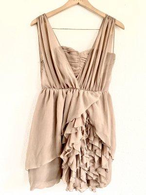 H&M Chiffon jurk stoffig roze