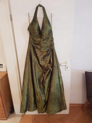Ambiance Robe de soirée vert foncé-gris vert