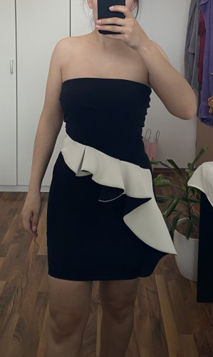 Zara Evening Dress black-white