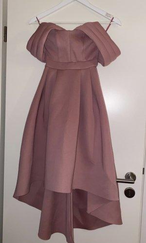 Asos Petite Sukienka midi w kolorze różowego złota