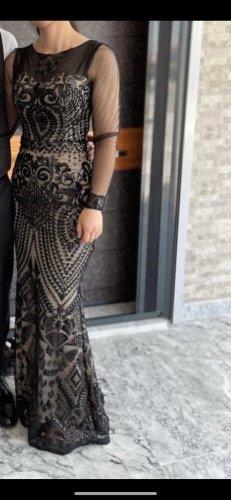 Abendkleid Avondjurk zwart