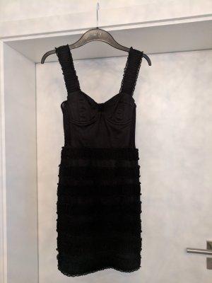H&M Corsage Dress black