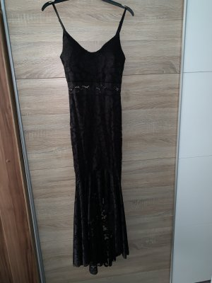 Topshop Vestido de noche negro