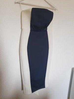 Asos Petite Pencil Dress white-blue