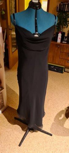 Invito Chiffon Dress black