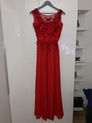 keine Vestido largo rojo