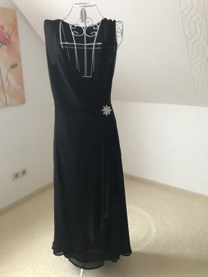 Alba Moda Robe de soirée noir polyester