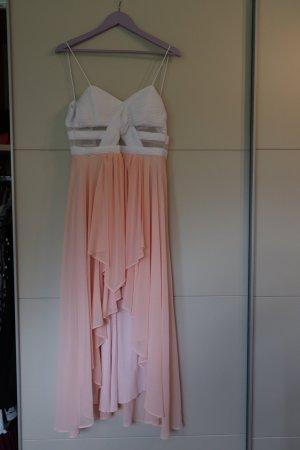 Bodyflirt Suknia wieczorowa brzoskwiniowy-biały