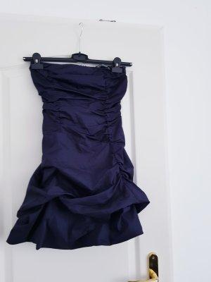 Rinascimento Sukienka na jedno ramię ciemnoniebieski