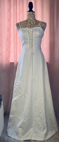 Apart Vestido de baile blanco puro