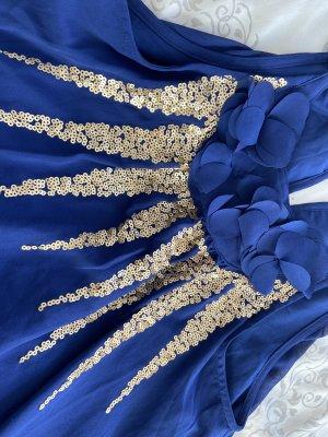 bpc Vestido de baile azul oscuro