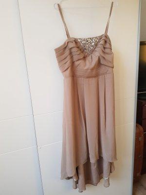 Bodyflirt Suknia wieczorowa beżowy