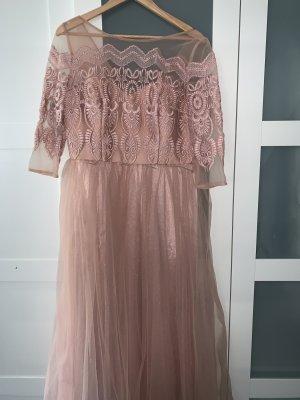 Asos Robe de soirée or rose