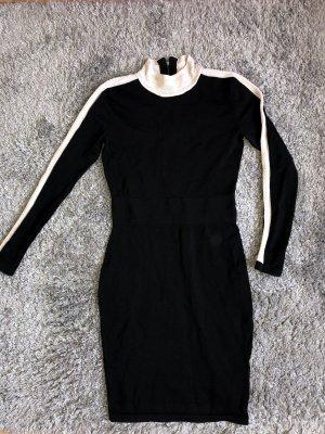 Coercion Evening Dress white-black
