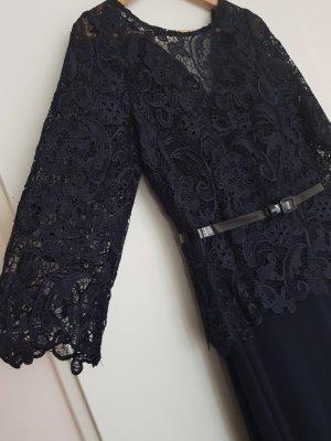 Abendkleid Abi Ball Kleid mit Spitzen  - Größe 38