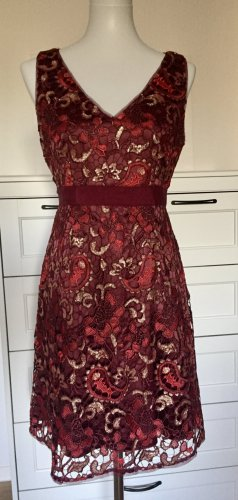 Adrianna Papell Evening Dress carmine-gold-colored polyester