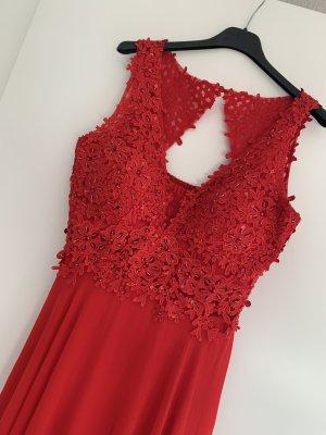 Suknia balowa czerwony