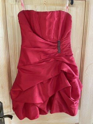 Abendkleid Abschlussball Kleid rot