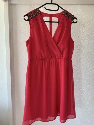 Abendkleid/ Abschlusskleid/ Cocktailkleid pink Vila