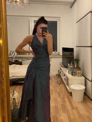 Abendkleid Ärmellos Unique S mit Stola