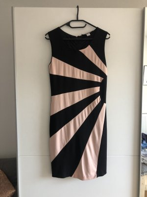 Ashley Brooke A Line Dress black-pink