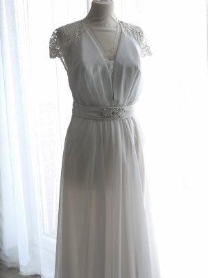 Apart Evening Dress white
