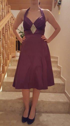 17&co Robe de soirée violet foncé