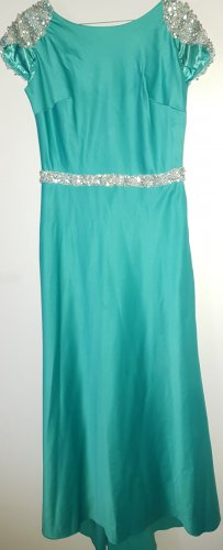 Camilla Evening Dress turquoise