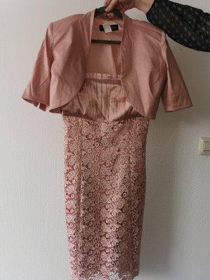Carry Allen by Ella Singh Evening Dress dusky pink