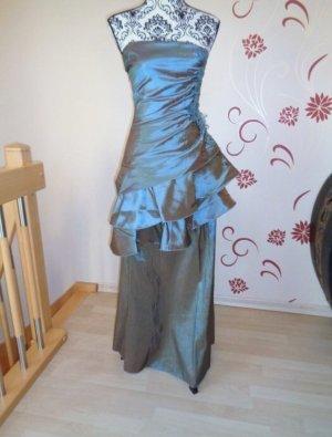 Abendkleid Ballkleid Abikleid Glitzer Kleid Spitze Gr. 36 38