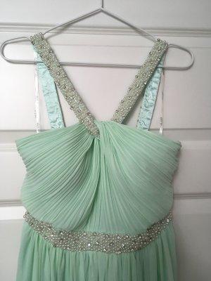 Abendkleid - Ballkleid - Brautjungfer mint / türkis