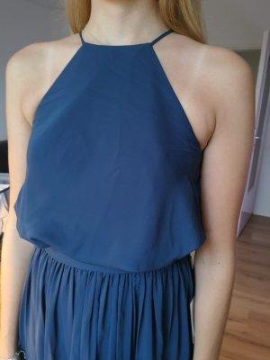 Abendkleid Ballkleid dunkelblau Gr. 36