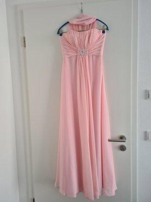 Abendkleid Ballkleid Hochzeitskleid lang Gr. M rosa Kelsey Rose