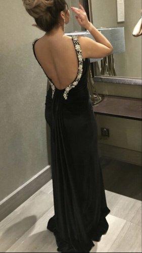 Abendkleid Ballkleid Samt elegant schwarz