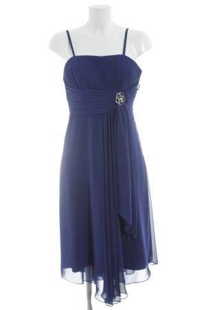 Abendkleid blau Elegant