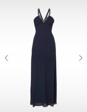 Abendkleid blau S