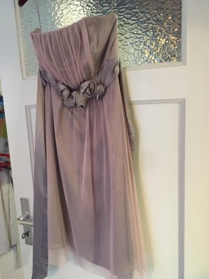 Belle Evening Dress pink-white