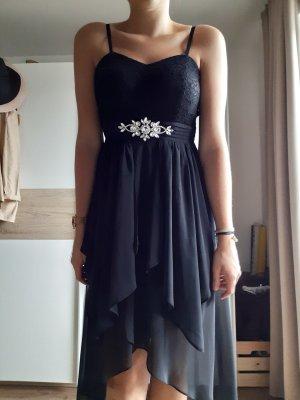 OMONSIM H&K Robe bas asymétrique noir