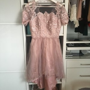 Chi Chi London Evening Dress rose-gold-coloured-dusky pink