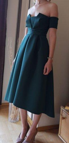 Asos Robe de soirée bleu pétrole-vert forêt