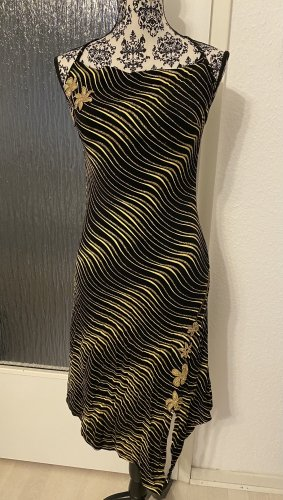 Abendkleid/cocktailkleid in zebra look