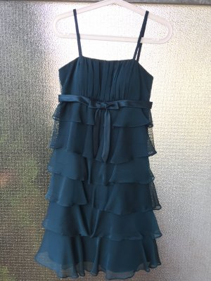 Damiani Vestido de baile petróleo