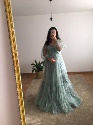 Azra Dress Evening Dress cornflower blue