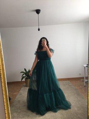 Azra Dress Evening Dress dark green