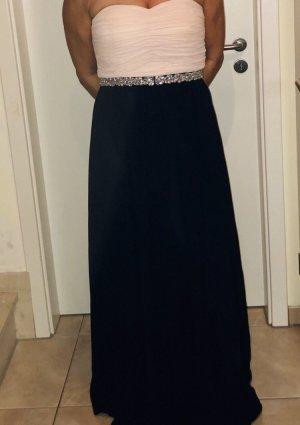 Abendkleid dunkelblau rosé von Peek & Cloppenburg