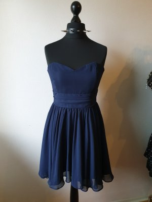 Abendkleid Elegantes Minikleid Navy Blue
